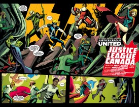 Justice League United #0 Preview 2 Art by Mike McKone