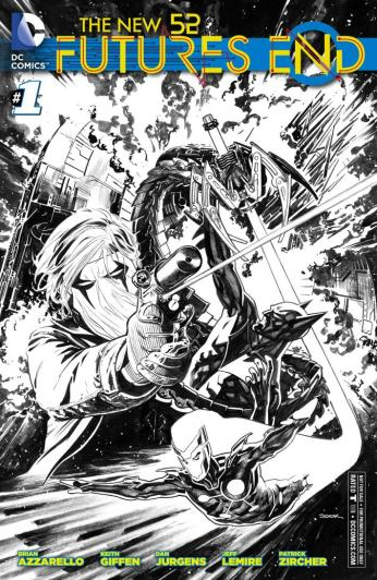 The New 52: Futures End #1 Cover by Ryan Sook
