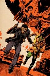 Mighty Avengers #10 Variant Cover by Francesco Francavilla
