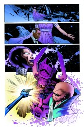 Mighty Avengers #10 Preview 2 Art by Greg Land