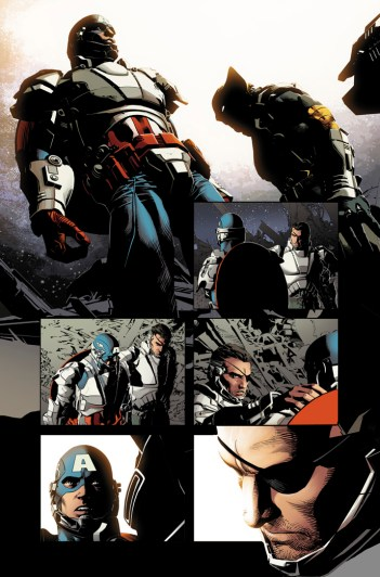 Original Sin #1 Preview 3 Art by Mike Deodato