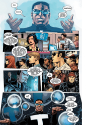 The New 52: Future's End #5 Preview 2 Art by Dan Green/Jesús Merino