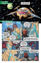 Green Lantern #32 Preview 2 Art by Rob Hunter/Billy Tan