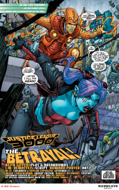 Justice League 3000 #7 Preview 1 Art by Howard Porter