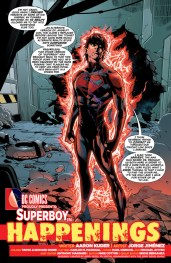 Superboy #32 Preview 2 Art by Jorge Jimenez