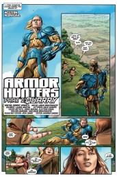 Armor Hunters #1 Preview 2 Art by Doug Braithwaite