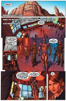 Armor Hunters #1 Preview 5 Art by Doug Braithwaite