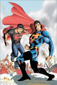 Superboy and Superman