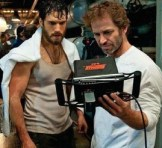 Zack Snyder and Henry Cavill