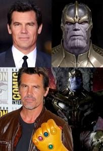 James Brolin as Thanos