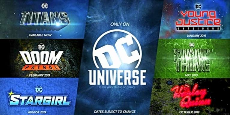 DC Universe Reveals Release Calendar – Comics Talk News and