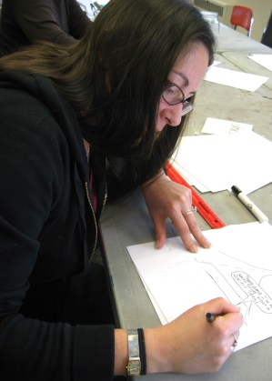 Currier Art Center: Family Comics