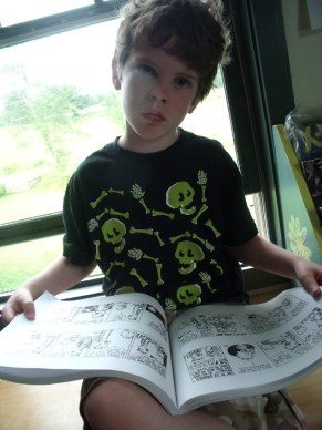 Comics Camp at Hopkinton Independent School