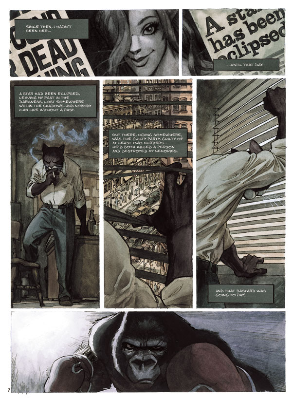 Blacksad page 4