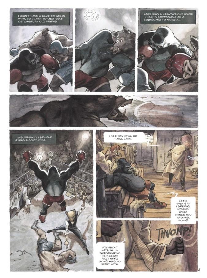 Blacksad page 5