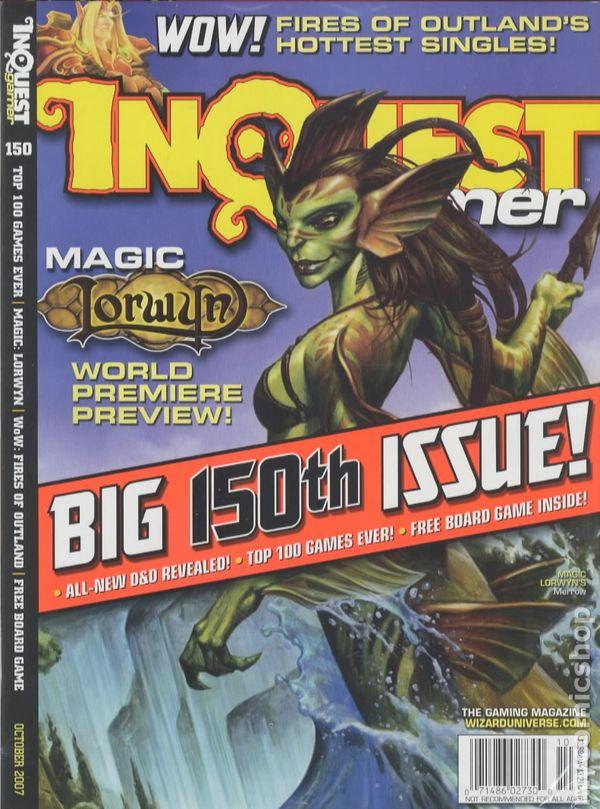 Inquest Gamer #150