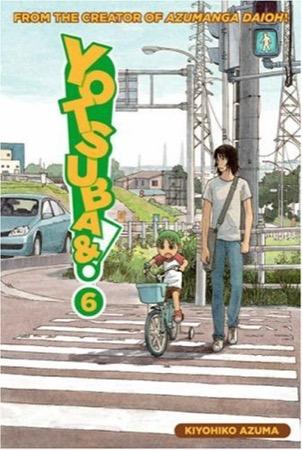 Yotsuba&! volume 6 cover