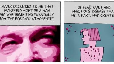 Comic by Darryl Cunningham