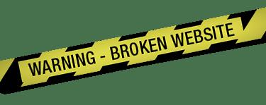 Broken Website