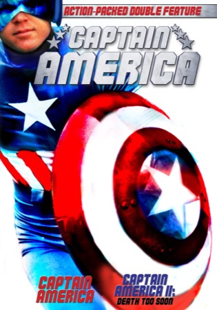 Captain America / Captain America II: Death Too Soon cover
