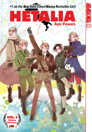 Hetalia Volume 3 cover