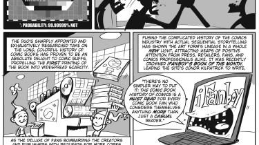 Comic Book History of Comics press release