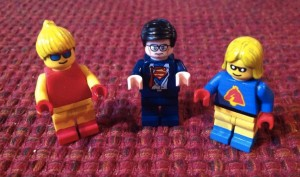 Lego Clark Kent and friends