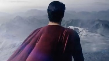 Man of Steel trailer shot