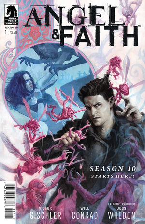 Angel and Faith Season 10 #1 cover