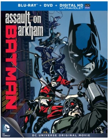 Batman: Assault on Arkham cover
