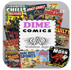 Dime Comics logo