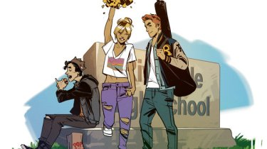 Archie art by Fiona Staples