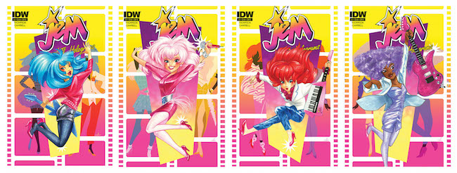 Jem and the Holograms covers by Amy Mebberson