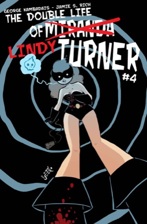 The Double Life of Miranda Turner #4 cover