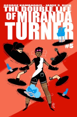 The Double Life of Miranda Turner #5 cover