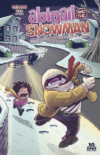 Abigail and the Snowman #4 cover