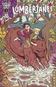 Lumberjanes #12 cover