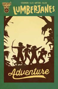 Lumberjanes #8 cover