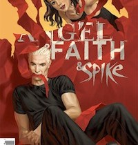 Angel & Faith #20 cover by Steve Morris