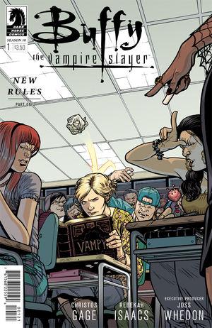 Buffy Season 10 #1 cover