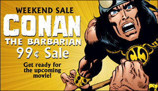 Dark Horse Conan digital comic sale