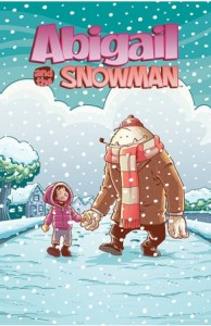 Abigail and the Snowman #1 cover