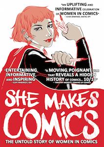 She Makes Comics cover