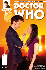 Doctor Who: The Tenth Doctor #14 photo cover