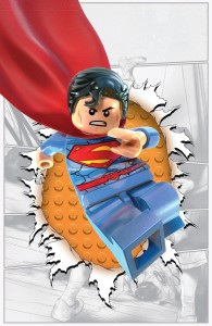 Action Comics #36 LEGO variant cover