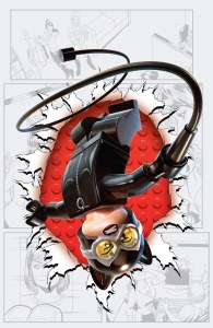 Catwoman #36 LEGO variant cover