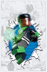 Green Lantern Corps #36 LEGO variant cover