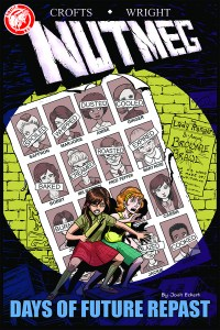 Nutmeg #1 variant cover by Josh Eckert