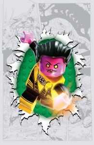 Sinestro #7 LEGO variant cover