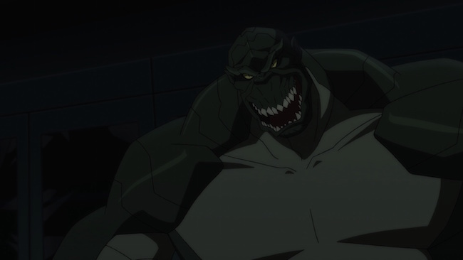 Son of Batman promo image - Killer Croc